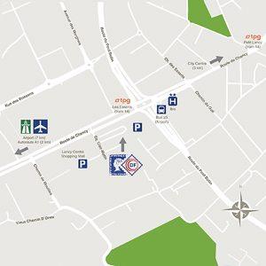 Map 59 route de chancy