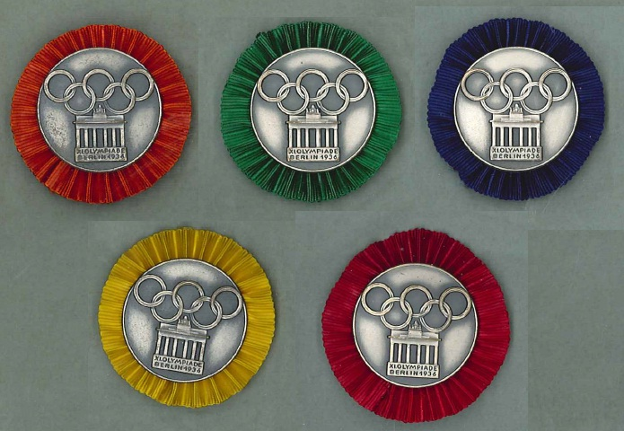 Participant Badges for the International Camps and Demonstration Teams