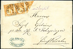 Ultra-Rare Hungarian Bisect Cover