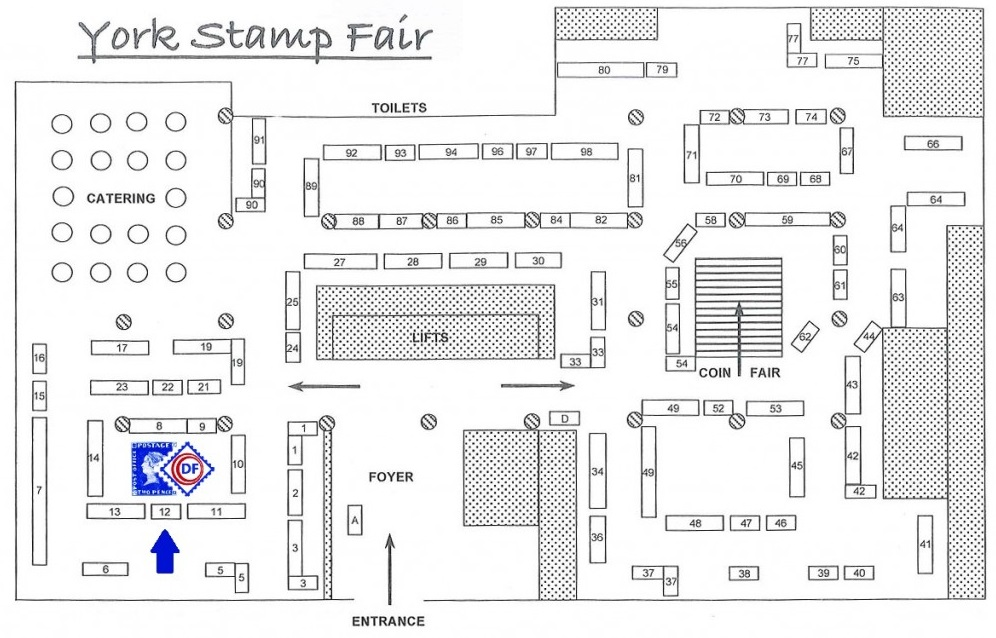 York Stamp Fair Plan