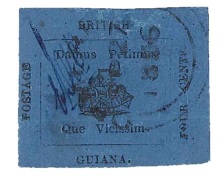 British Guiana stamp, Geneva, Switzerland 2014