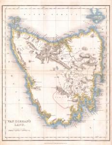 Tasmania Courier & Chalon Head Research by Koichi Sato