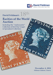 Stamps auction catalogue, Rarities of the world, Geneva, Switzerland
