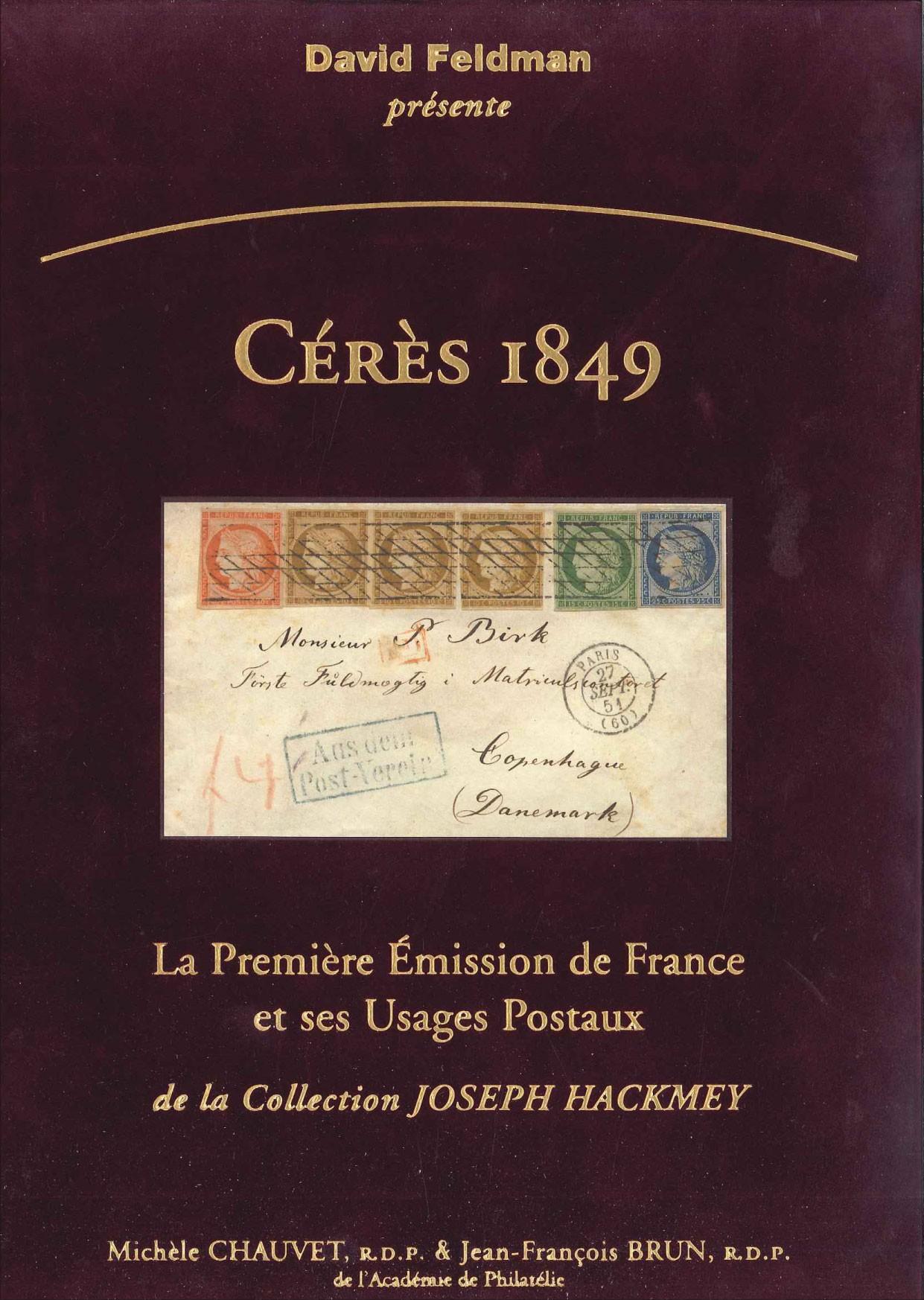Cérès 1849, la première émission de France et ses usages postaux