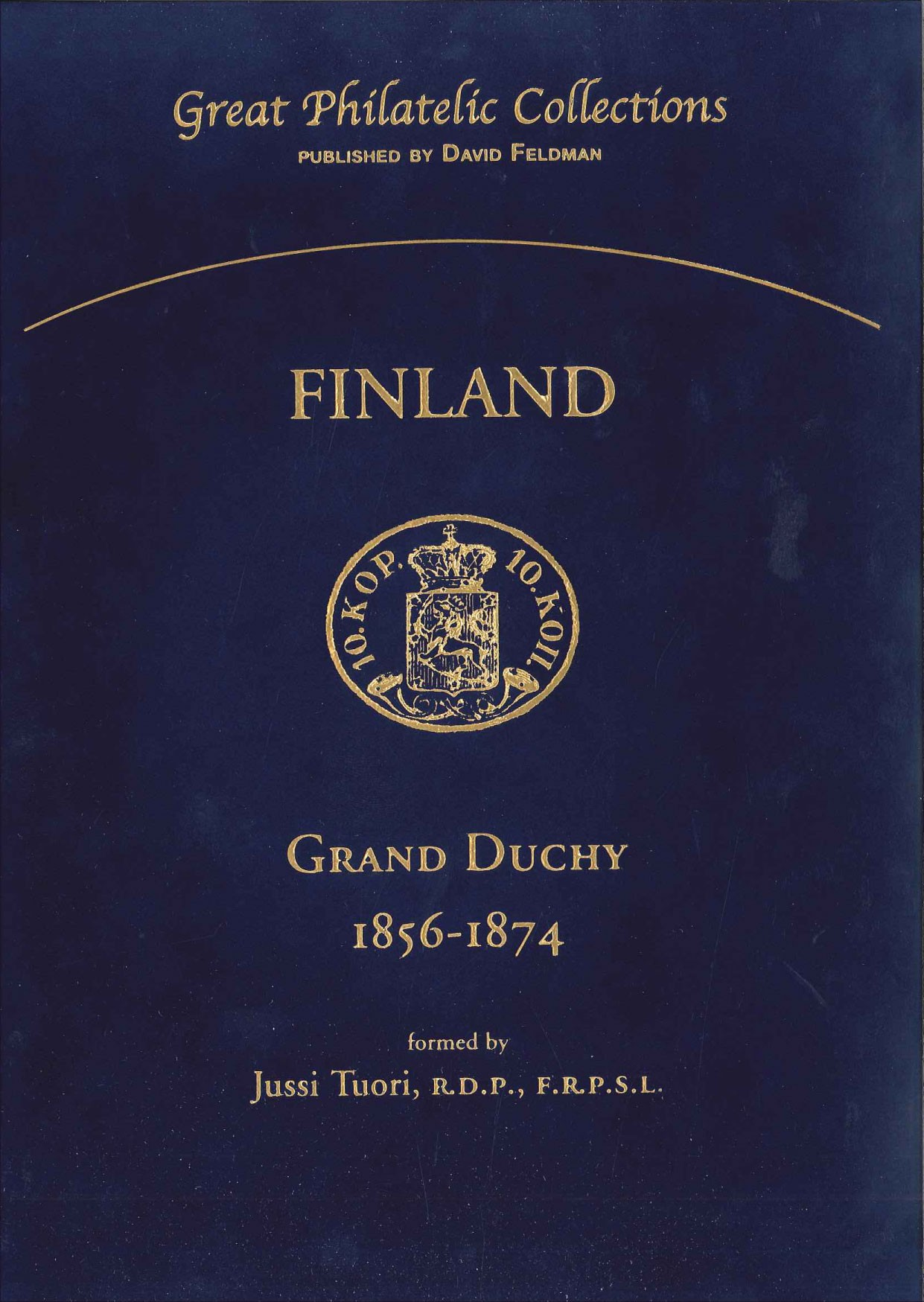 Great Philatelic Collections, philatelic book Finland