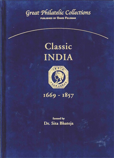 Philatelic book, Great Philatelic Collections, Classic India, Collection stamps India
