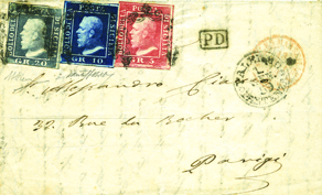 Press: Key postal history covers sold at Feldman auction