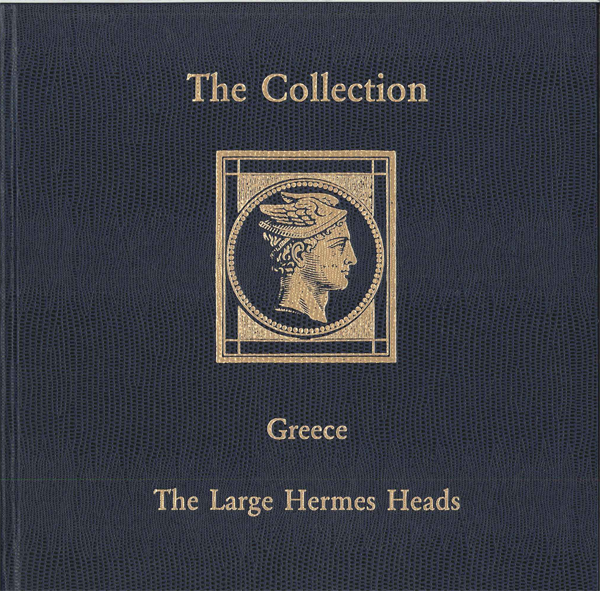Philatelic book Greece, stamps collection