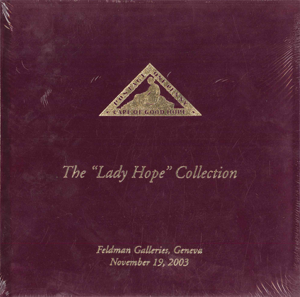 Lady Hope stamps Collection, Philatelic book