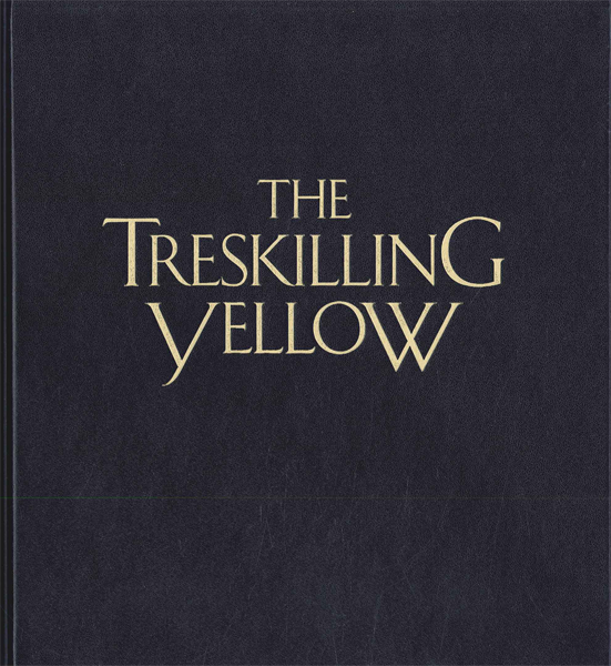 Philatelic book, The treskilling yellow stamp