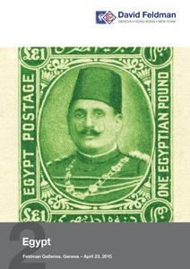 Cover Egypt catalogue April 2015