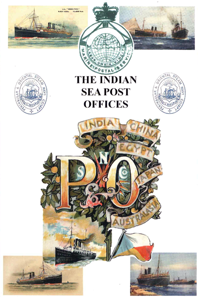Cover of The Indian Sea Post Offices Book