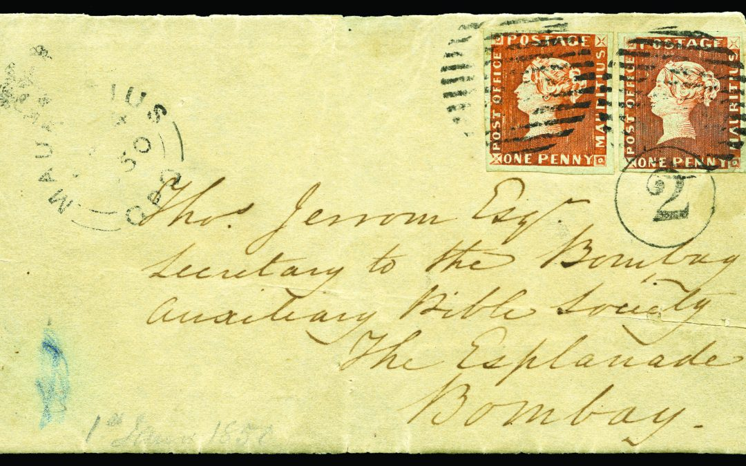 "The ""Bombay"" Cover – an Aristocrat of Philately"