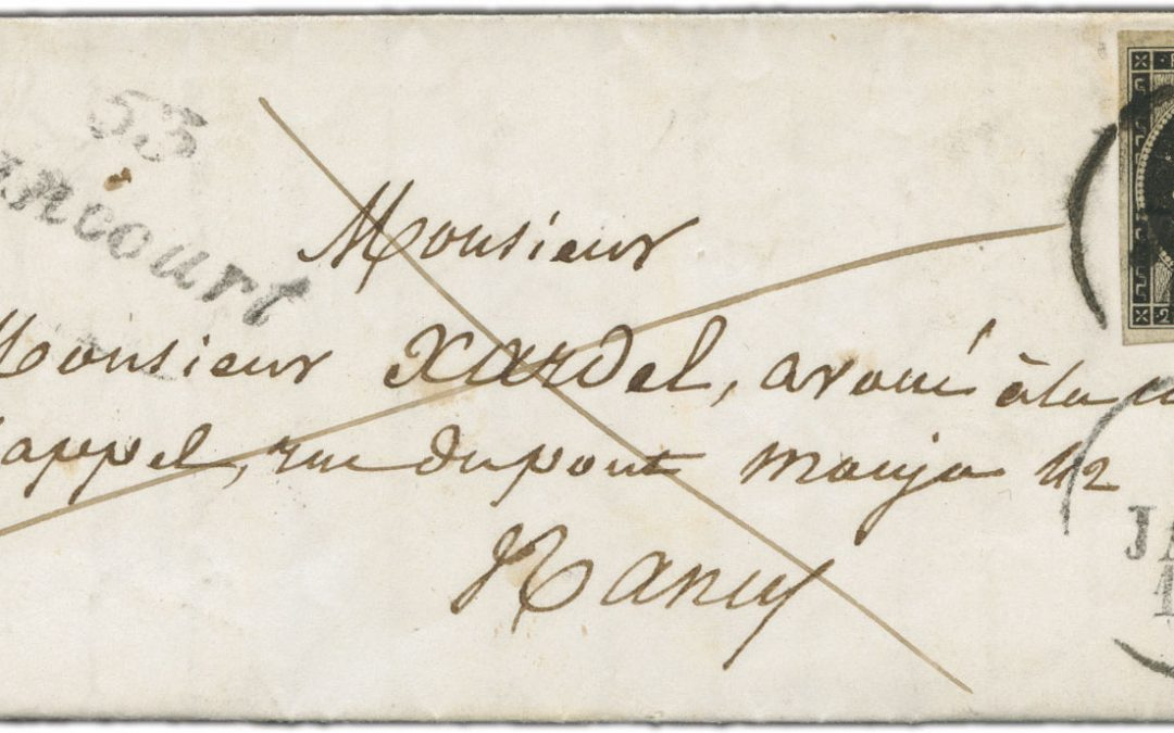 Histoire postale et philatélie française