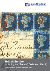 British Empire auction philately stamps collection