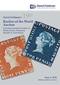 Stamps Philately Rarities auction