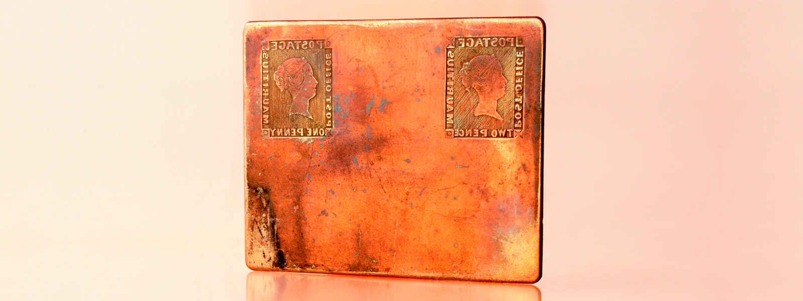 The Mauritius printing plate will be exhibited in New York