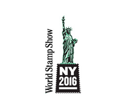 logo New York Stamp show 2016