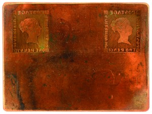 Mauritius printing Plate image