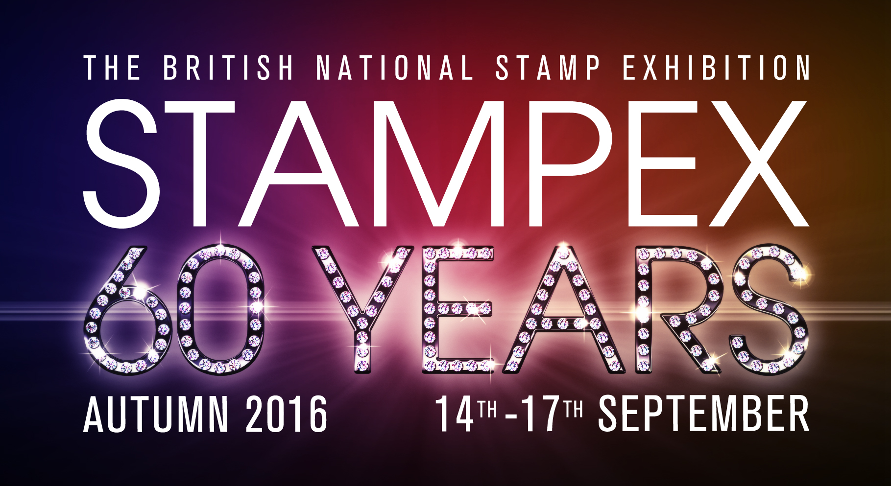 Meet us at Stampex in London, September 14th-17th 2016