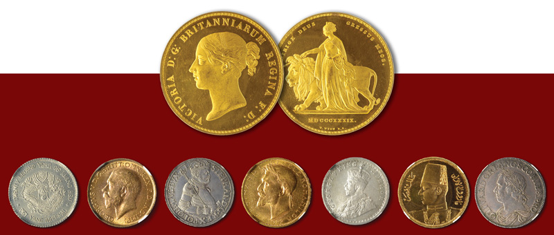 coins floor auction October 2016