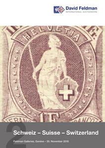 Switzerland stamp auction