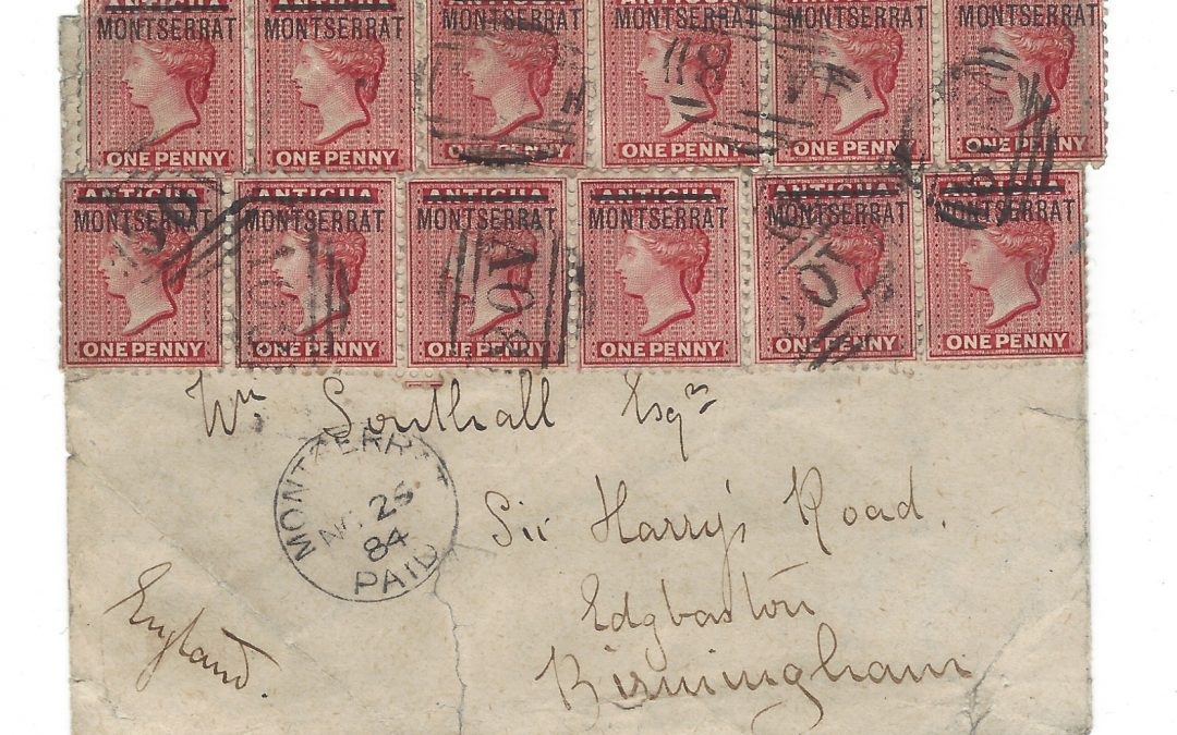 Private Treaty: Award Winning Postal History Collection of Montserrat