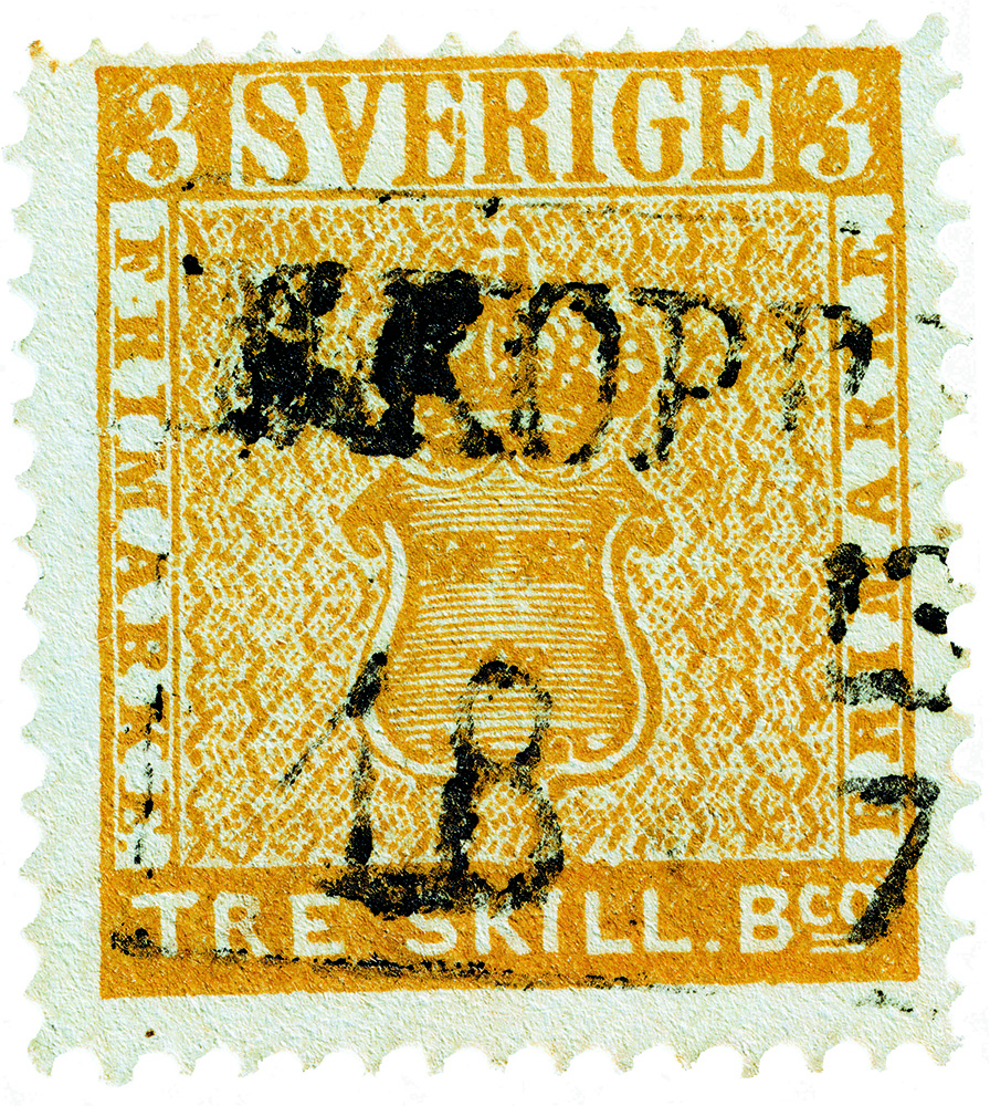 "The Sweden ""Treskilling Yellow"""