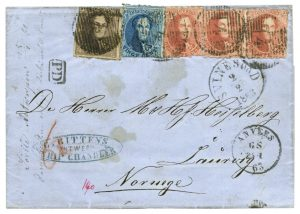 Belgium Cover to Norway