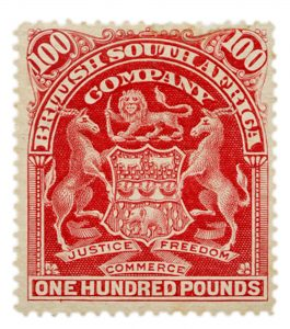 Rhodesia £100 Cherry-Red Mint