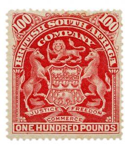 Rhodesia £100 Cherry-Red Mint
