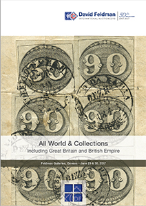 Cover of Catalogue Stamps Auction (June 2017) - All World (Brazil, Italy...)