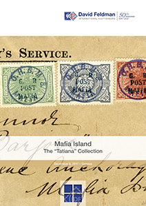 Stamps auction cover catalogue Mafia Island