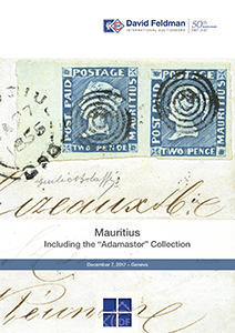 Mauritius Cover auction catalogue