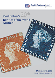 Rarities stamps Auction