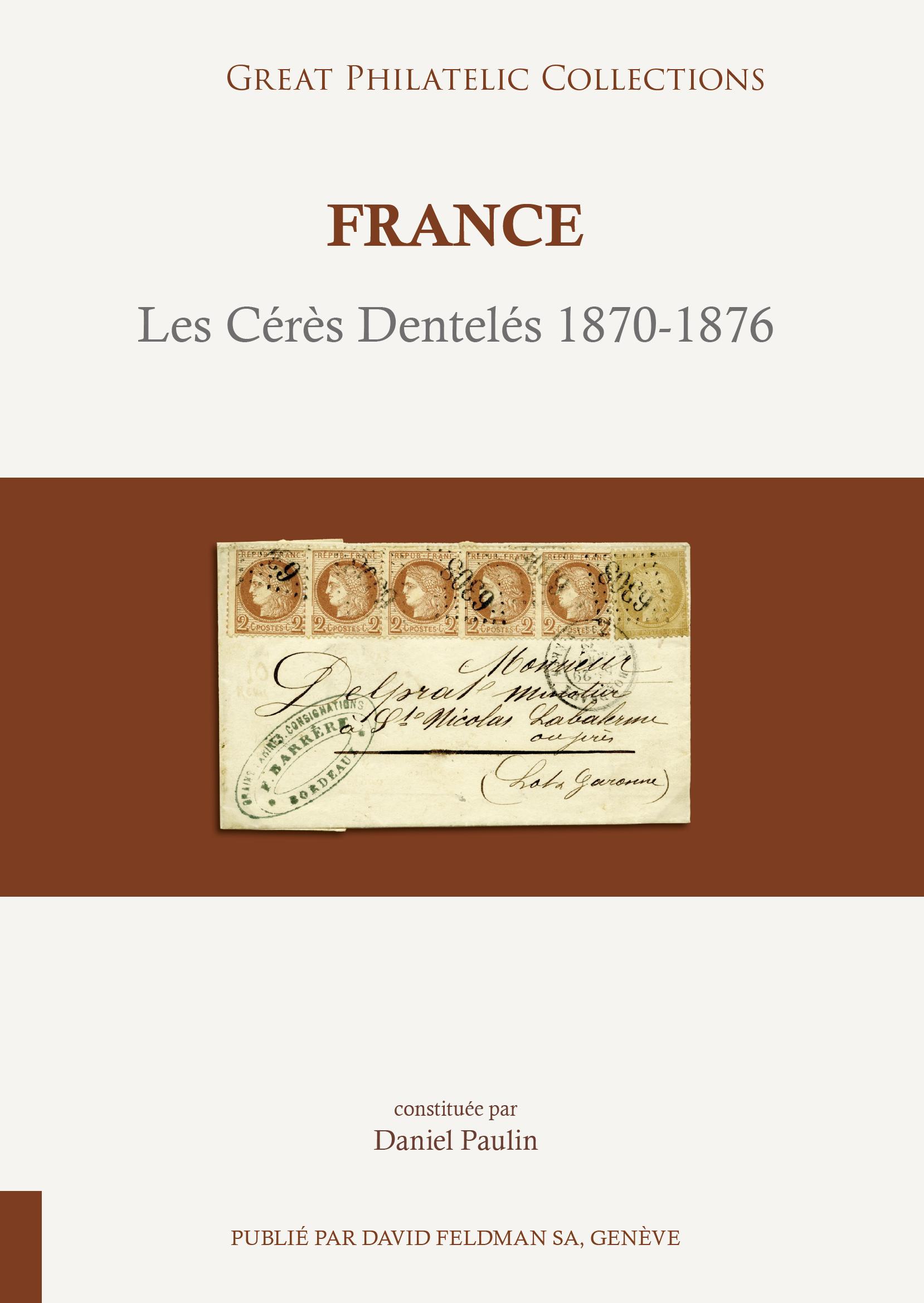 livre Ceres dentelés 1870-1876
