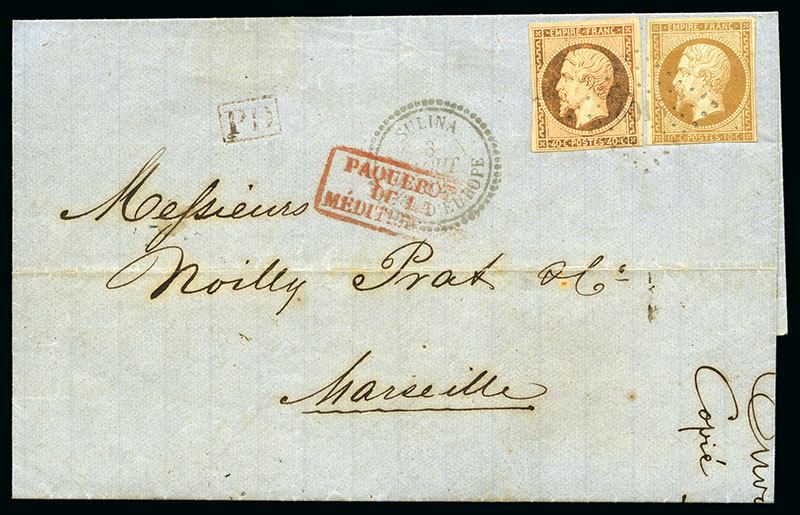 Levant Français cover - stamp collection- Jubilee Auction