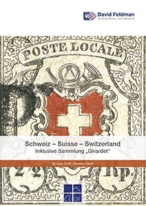 Switzerland stamp auction
