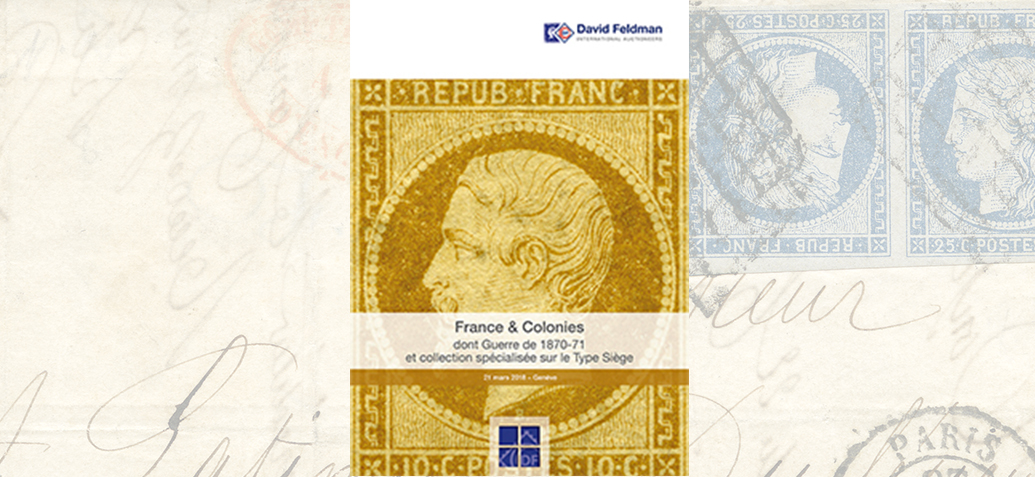 Résultats de la vente France & colonies