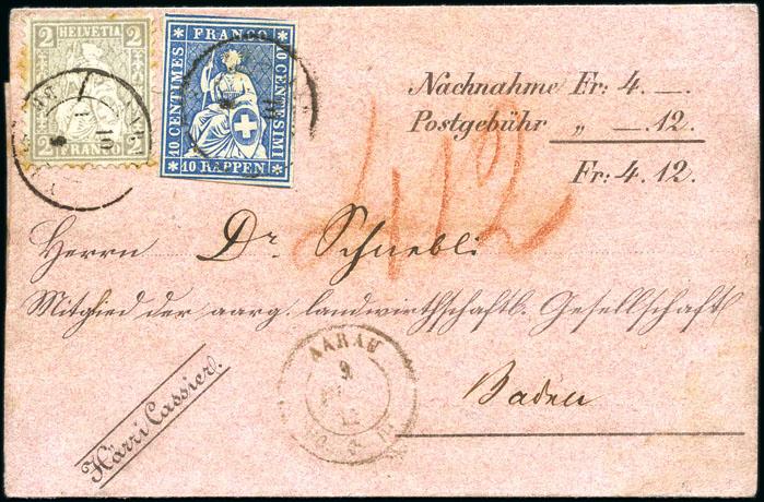 Enveloppe Suisse
