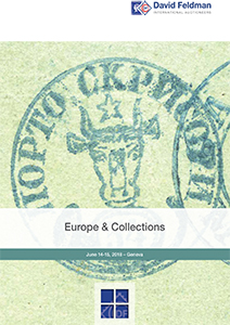 Europe stamps auction