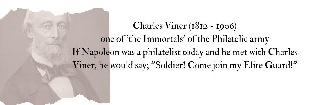 Famous philatelist Charles Viner