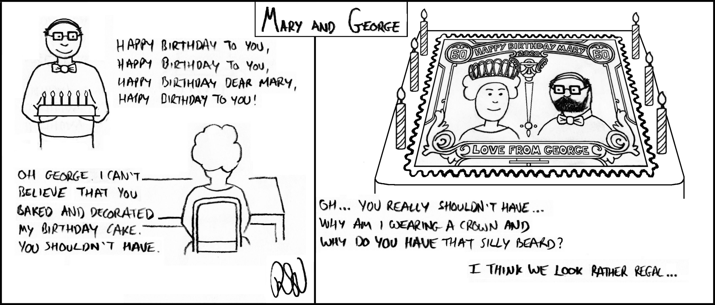 Mary_and_George cartoon by Ricky Verra episode 12