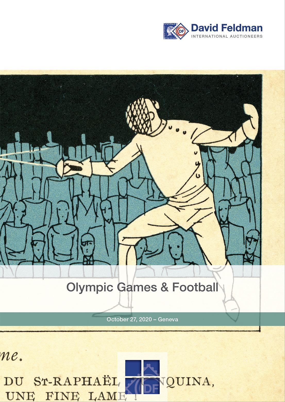 Olympic philately & memorabilia auction