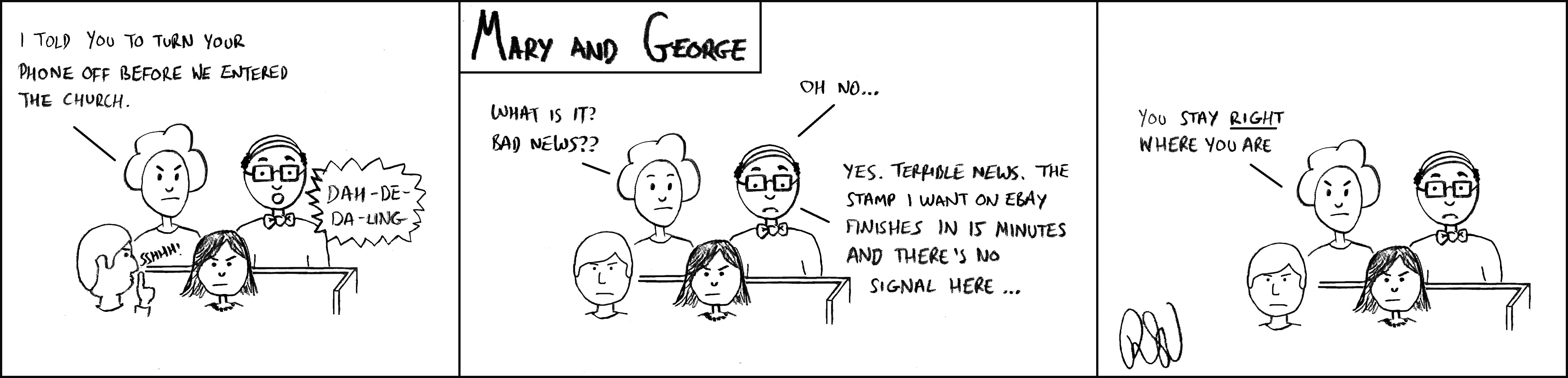 Philatelic cartoon - november 2020