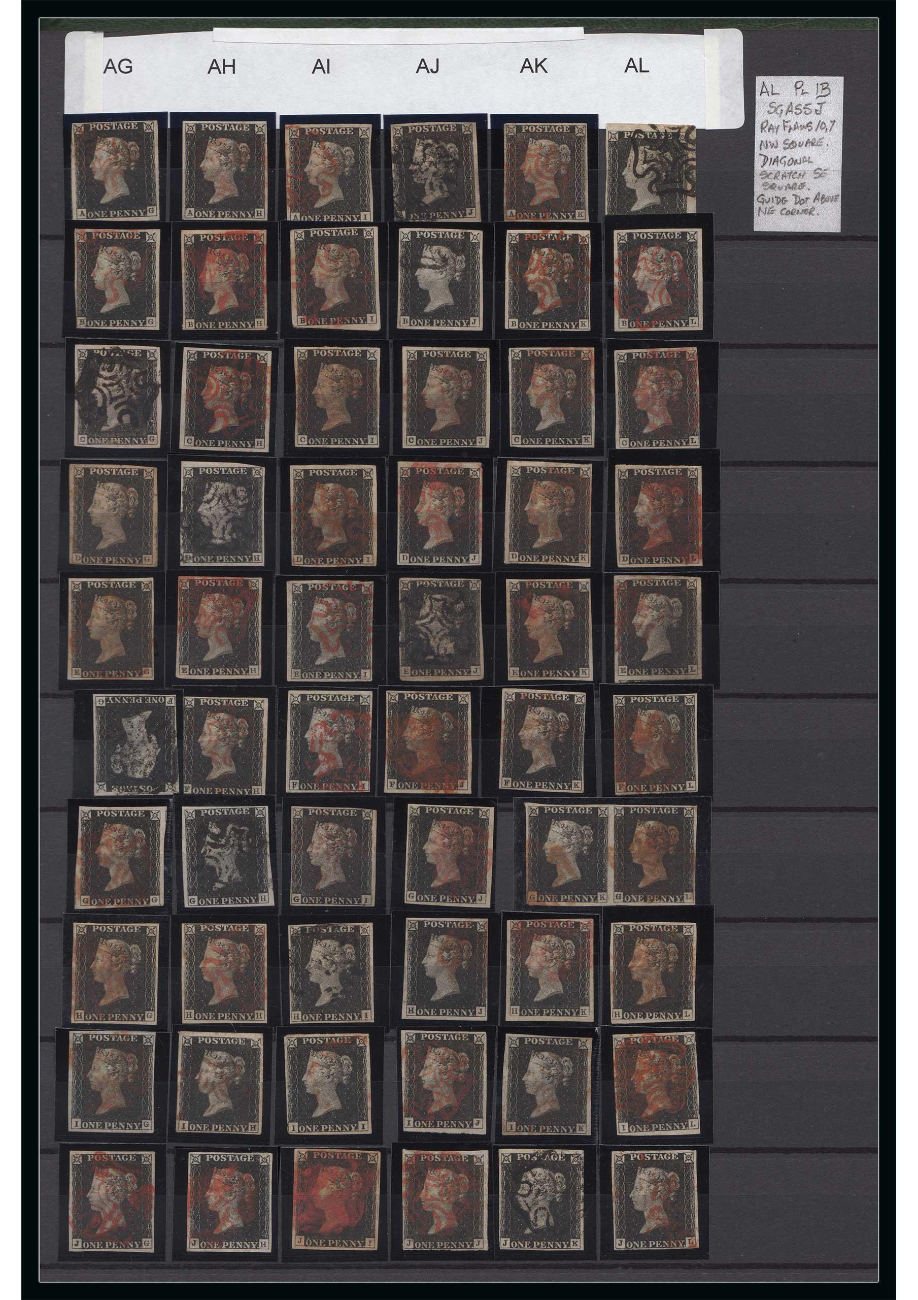 1840 1d Black