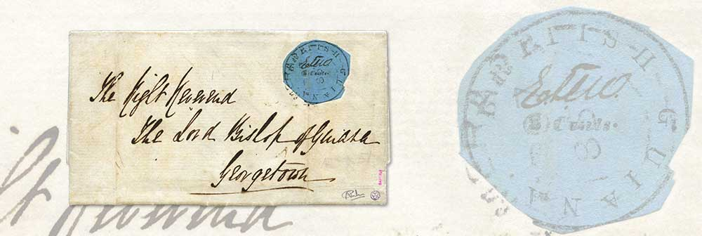 the 1851 2 cents cotton reel error on cover