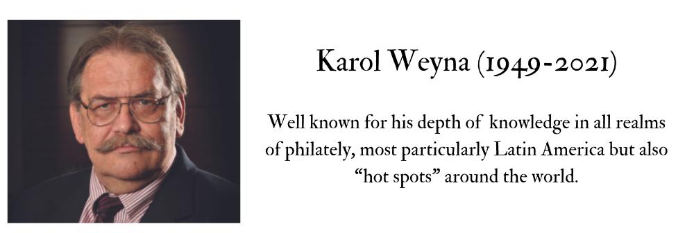 Tribute to Karol Weyna